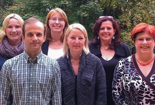(von links nach rechts) Isabelle Backes-Neu, Vsevolod Starko, Agnes Fröhlich, Katja Schönborn, Evelyn Lill, Rosemarie Kiefer